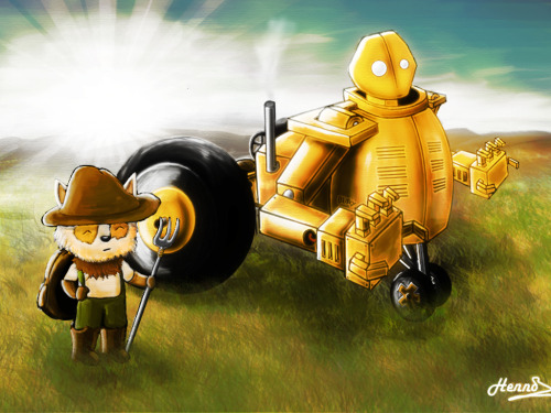 Farmer Teemo and Tractor Blitzy.~ by EpicEpic