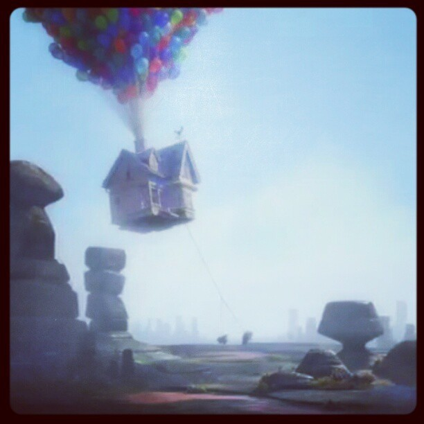 I #love this #movie: #up (Taken with instagram)
