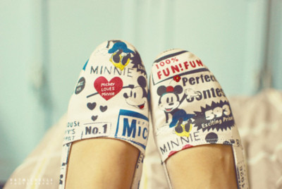 Cute Disney shoes!