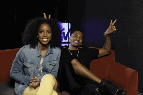 songzuthabaddest:  trey songz and kelly rowland
