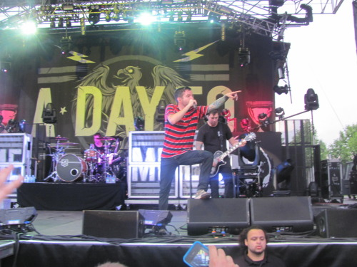 halexis315:  This was my third time seeing ADTR but I still about pissed my pants out of sheer joy. The fans were all really cool too. I love seeing people pick someone up before they get stepped on if they fall in a pit, and I love watching guys looking out for random girls that are smaller than them. It just flat out makes for a better experience. Jeremy talking about how us fans changed their lives and how his last job was slicing meat at a deli was pretty bad ass too. It just reminds me how much i love them.