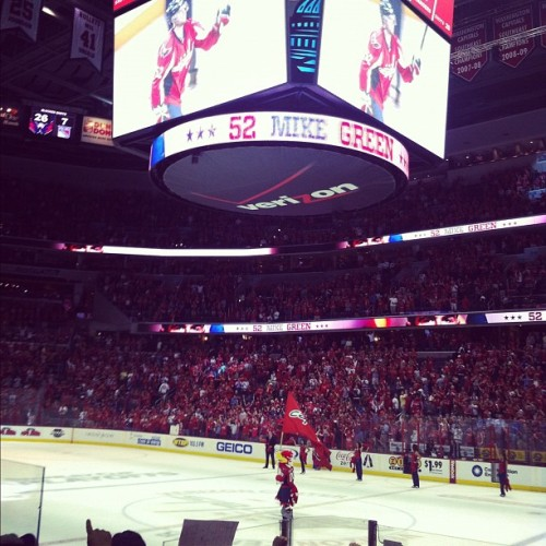 LET'S GO CAPS (Taken with Instagram at Verizon Center)
