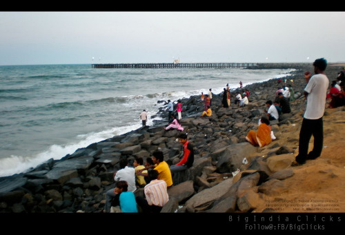 Pondicherry beach,India