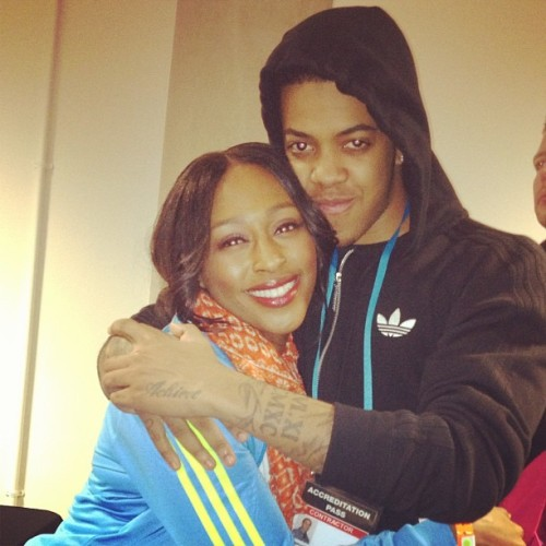 With ma boo! @OfficialChip (Taken with instagram)