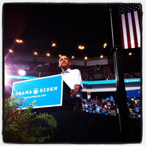 "barackobama:  ""If people ask you what this campaign is about, you tell them it's still about hope. It's still about change. It's still about ordinary people who believe that in the face of the greatest odds, we can make a difference in the life of this country."" —President Obama"