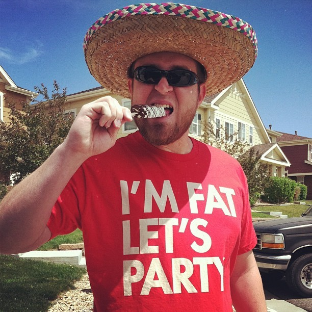 steveoramagraphics:  Soy gordo… Happy cinco de drinko! #seibei (Taken with Instagram at el camino)  Steve this is a great picture!