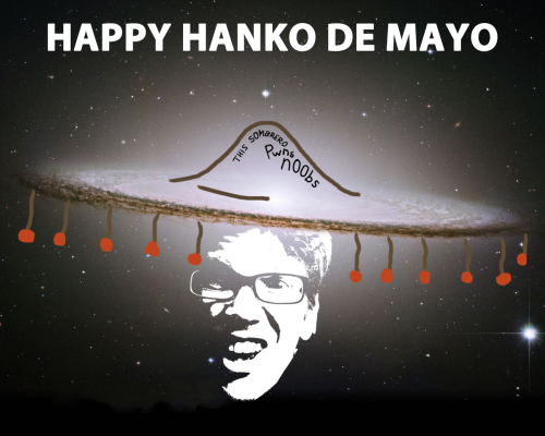happy birthday, hank