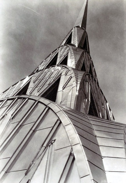 denise-puchol:  Chrysler Building New York margaret bourke white 1930-31