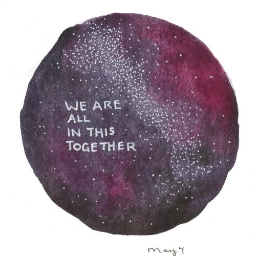125/366 We are all in this together.