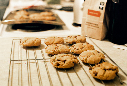t0rum:  Cookies on film. (by Intrepidation)
