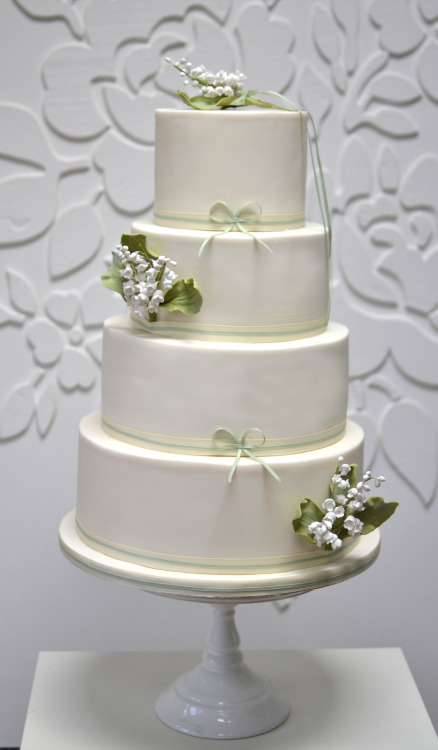 Last weeks mayday Lily of the Valley wedding cake
