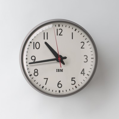 1960S IBM CLOCK REISSUE (via. Design Milk)