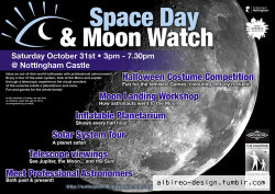 Publicity poster for the Moonwatch event held as part of the International Year of Astronomy. (2009)