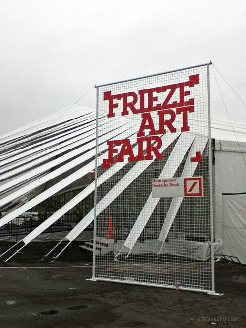 Frieze Art Fair New York 2012!
