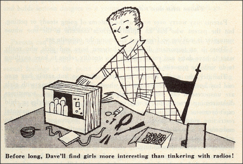 laughingsquid:  When Children Start Dating 1951