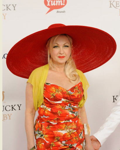 Cyndi Lauper today!