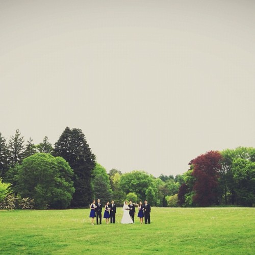 Tonnie + Richard's wedding today.  (Taken with Instagram at Planting Fields Arboretum)