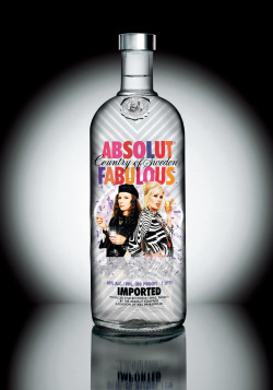 ABSOLUT FABULOUS- when there's absolutely no Stoli!
