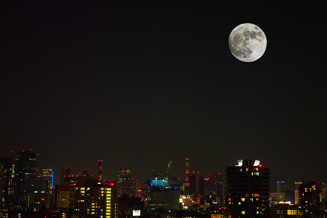 Super-moon May, 2012 by HAMACHI! on Flickr.