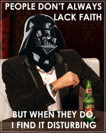 the most interesting vader in the world