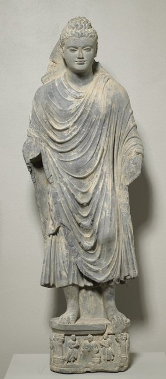 Standing BuddhaARTIST:Artist UnknownDATE:3rd century The Minneapolis Institute of Arts