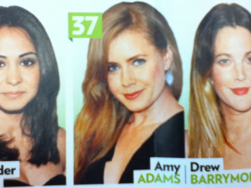 Amy on the People Magazine: Beautiful At Every Age :)