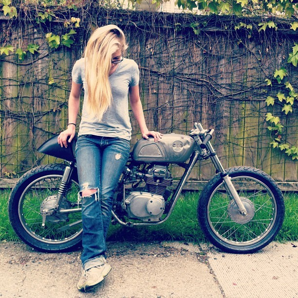 Motorcycle update #caferacer (Taken with instagram)