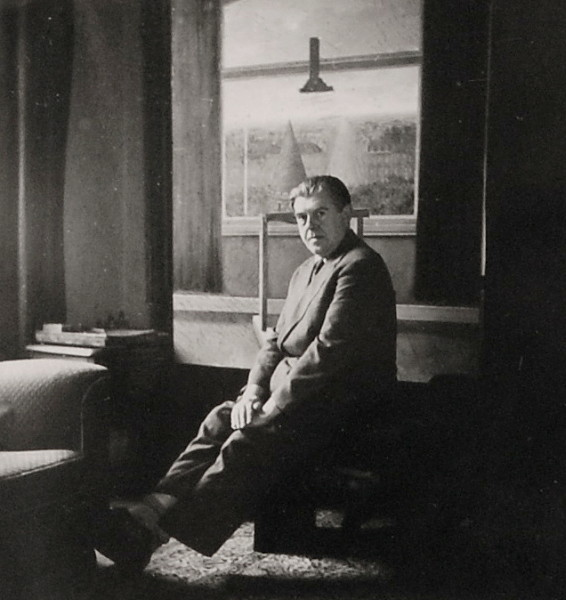 Rene Magritte, Self-Portrait in his studio, c. 1930