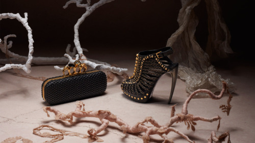 Alexander McQueen Spring Summer Accessories 2012 Lookbook