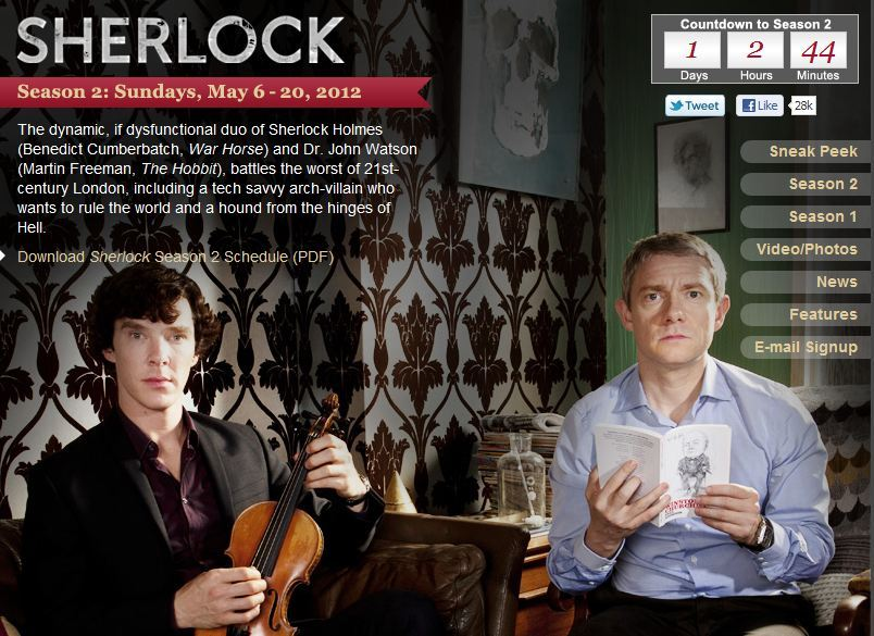 southern-humidity:  Sherlock. Season 2. Tomorrow at 9pm EDT/8pm CDT on PBS. LET'S GOOOOOO.  I'm ready!!