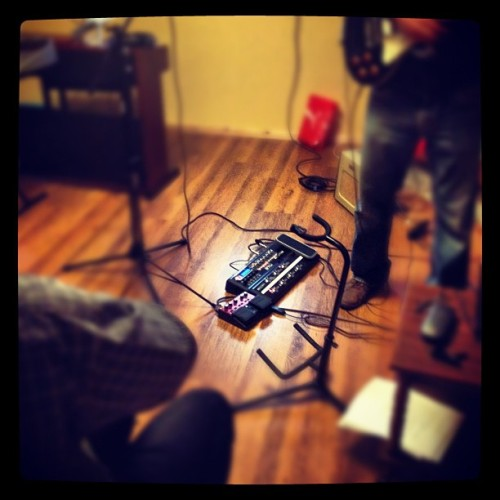 All about the effects. #music / on Instagram http://instagr.am/p/KQ4HXikuSD/