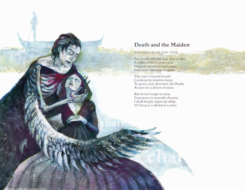 the poem is by Elinor Morton Wylie, it's fabulous.i illustrated the book of her poems as my latest university assignment.