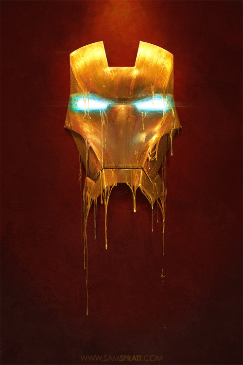 "herochan:  ""Gilded"" - Illustration  Created by Sam Spratt  Store 