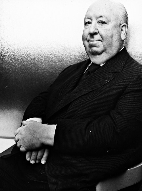 Alfred Hitchcock photographed in 1970.