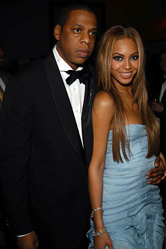 Beyonce and Jay-Z in Roberto Cavalli