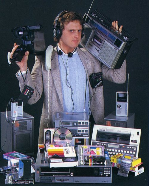 Now, after 30 years, you can carry all of this in your pocket.  画