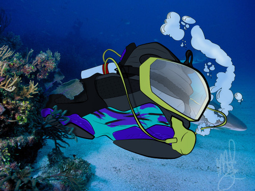 justjordans:  Scuba Diving in Aquas by MAS Customs