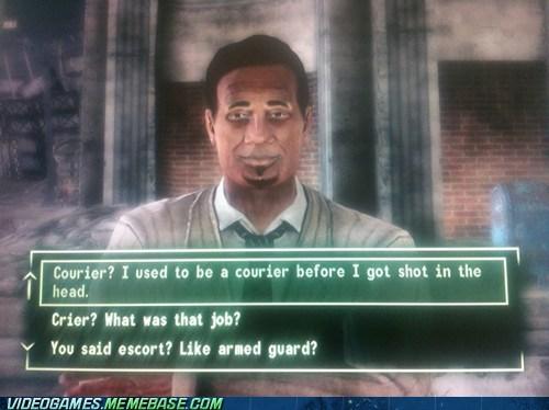 Fallout New Vegas trumps Skyrim's 'Arrow to the knee'