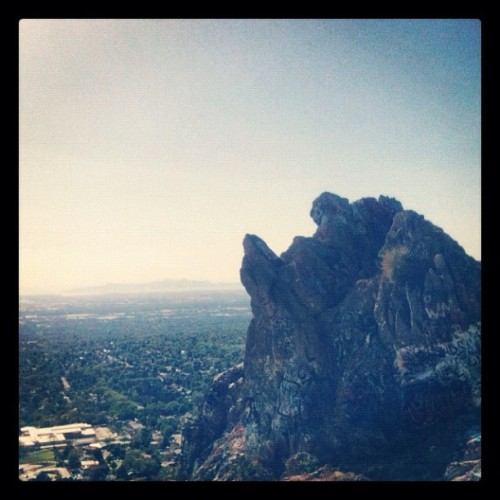 Rock #nature #location #skies #mountains #hill (Taken with instagram)