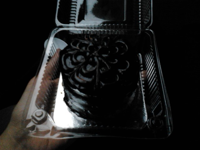 Mom randomly decided to buy cake from Cravings since Cravings was right beside the place where I took review classes. Coincidentally enough, it was my last day so yay celebratory cake! :) It was good and chocolate-y and had caramel inside =o= Now, I am officially free of review classes and summer is finally going to feel more summery to me :D And I'm going to Japan in a few weeks yay! 8D