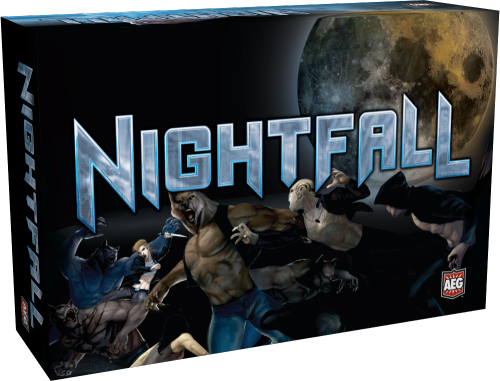 Nightfall - Competative Deck building game Tonight on we'll be playing Nightfall live on our Live Stream.  Join us tonight at 7pm PST and Watch our live game play, talk with us in the chat room, and find out more about this deck building card game.  buy it on Amazon
