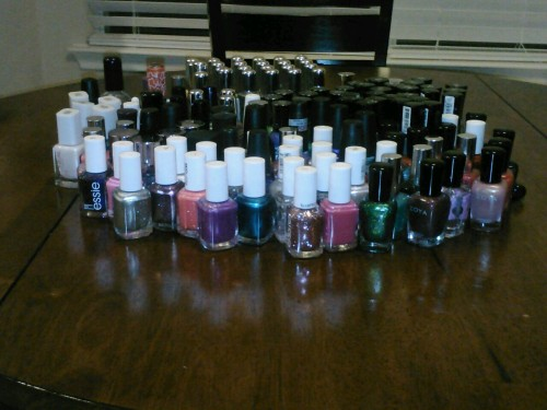 My nail polish collection is getting out of hand.