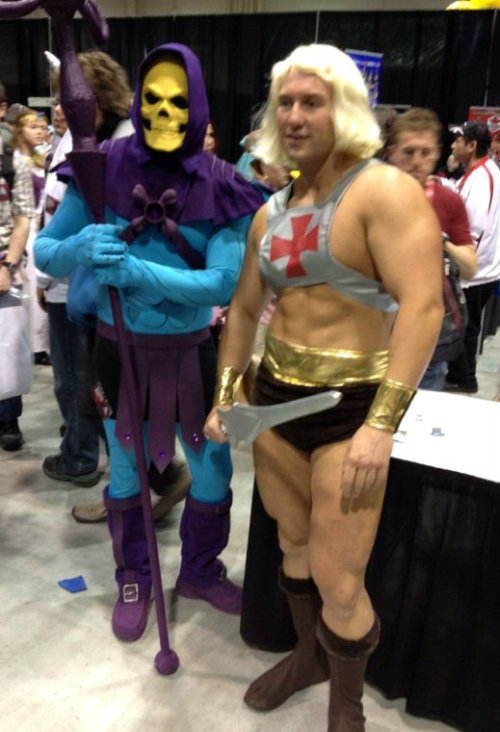 He-Man and Skeletor Cosplay