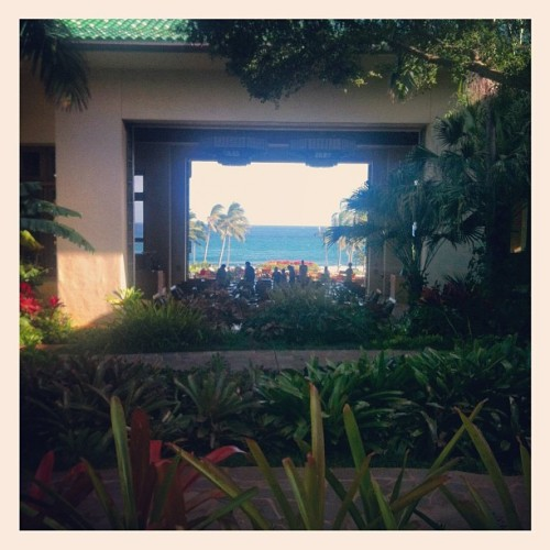 Taken with Instagram at Grand Hyatt Kauai Resort & Spa