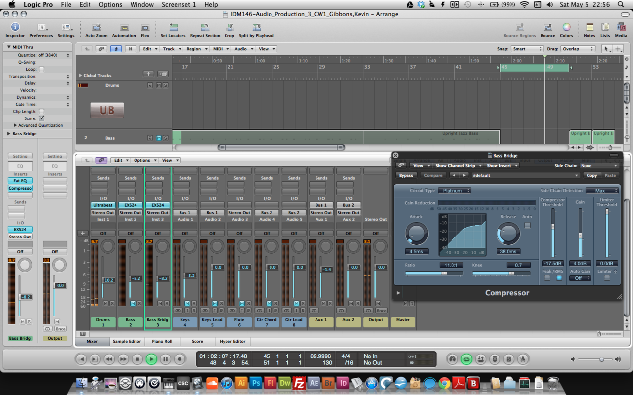 mixing in Logic! #NOOB