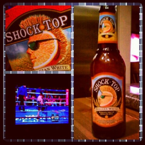 #Shocktop #Boxing #Familia #HBOPPV (Taken with instagram)