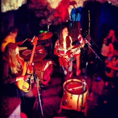 #live #music @haimtheband @theglasslands (Taken with instagram)