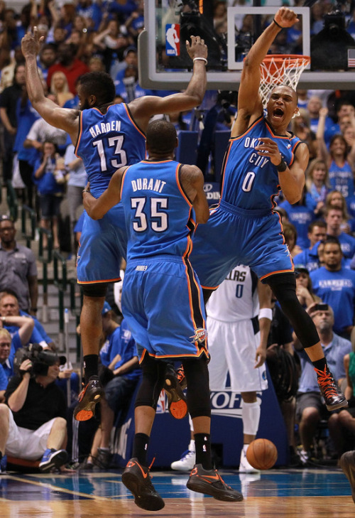 simplybasketball:  OKC Advances to 2nd Round with a 4 Game Sweep