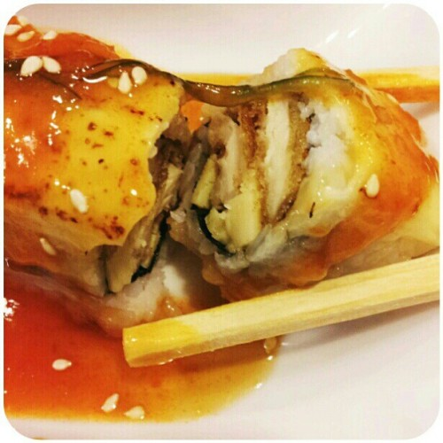 #fushion #sushi #japanese #rice #nori #chicken #katsu #tamago #melt #cheese #suteki #soya #sauce #sesame #seeds #biji #wijen #kikkoman #instagram #instaphoto #instaphoto #instaworld #android #androidphoto #pingram #pingramme #hellogram #instadaily #photooftheday #instago #instagramers #picoftheday #instacanvas   (Taken with instagram)