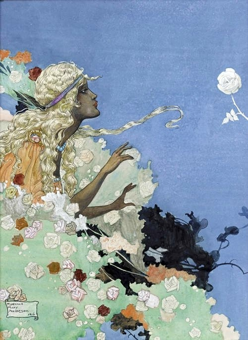 Florence Mary Anderson ~ from The Black Princess and Other Tales from Brazil ~ 1916 ~ via